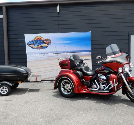 2012 Tri Glide Ultra and Trailer Combo