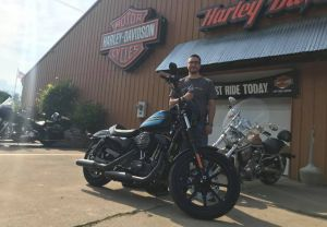 Paul and his 2018 XL1200NS Iron Special!