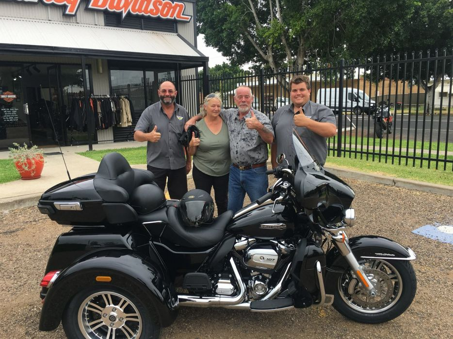 Our great customer's picking up there new Harley-Davidson®