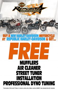 Buy a new Harley-Davidson Motorcycle!