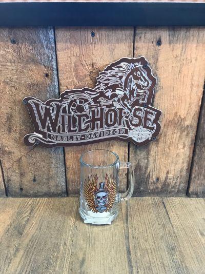Harley-Davidson® Glass Beer Stein