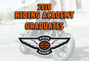 2018 Riding Academy Graduating Classes