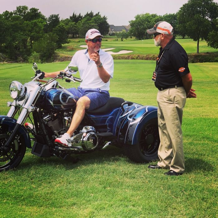 Harley-Davidson® of Dallas Booth at the McKinney PD Golf Tournament