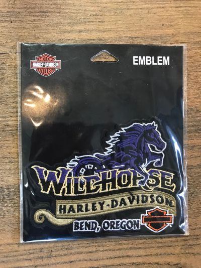 Wildhorse Harley-Davidson Custom Emblem Patch