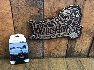 Wildhorse Harley-Davidson Can Wrap/Koozie