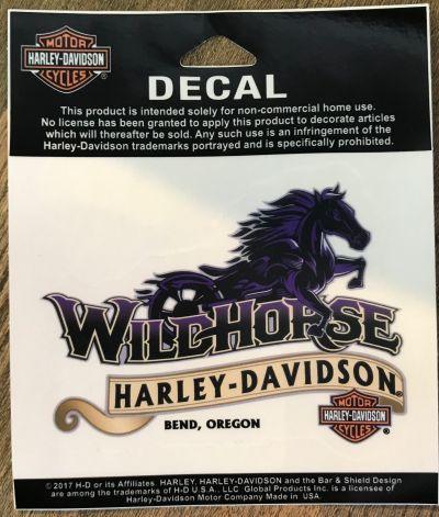 Wildhorse Harley-Davidson Custom Decal