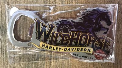 Wildhorse Harley-Davidson Custom Bottle Opener