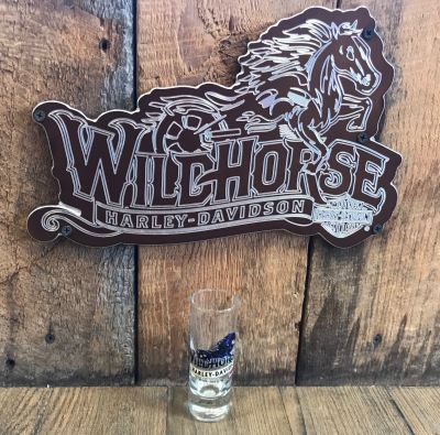 Wildhorse Harley-Davidson Custom Tall Shot Glass
