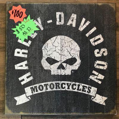 Harley-Davidson® Wood Sign