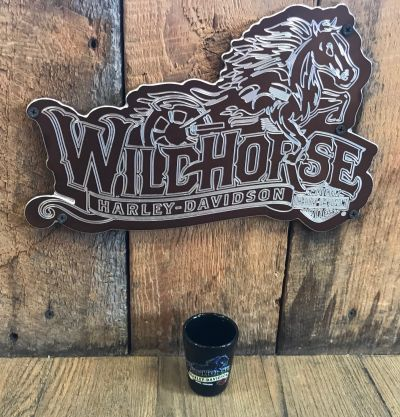 Wildhorse Harley-Davidson Custom Shot Glass