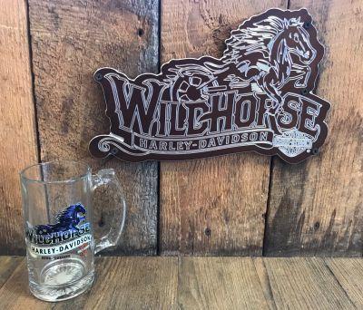 Wildhorse Harley-Davidson Beer Stein