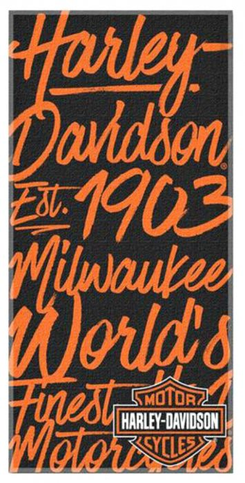 Harley-Davidson® Street Art ručnik za plažu
