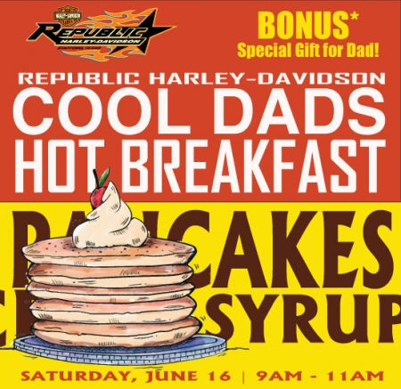 Cool Dads, Hot Breakfast!