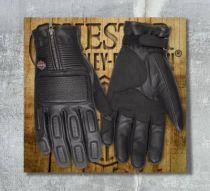 Harley-Davidson® Men's Miler Leather Gloves