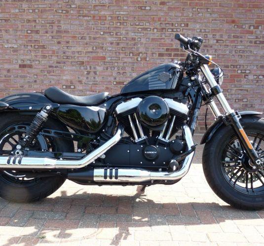 Ex-demonstrator 2018 Harley-Davidson XL 1200X Forty-Eight in Vivid Black