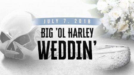 Big 'Ol Harley Wedding