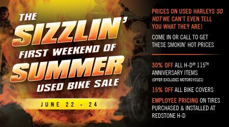 Sizzlin Summer Used Bike Sale
