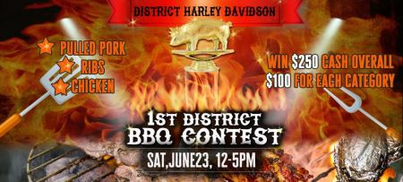 1st Annual District Harley-Davidson BBQ Contest