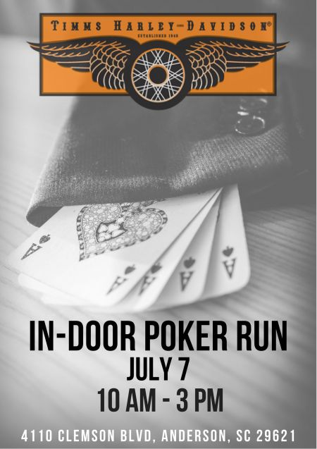 In-Door Poker Run