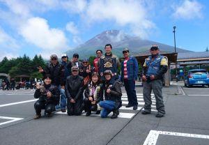 富士山五合目納涼ツーリング