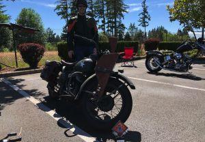 Merlin Kynaston - 1942 Harley-Davidson WLA