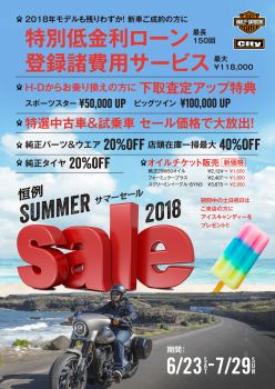 Summer Sale in Kawagoe
