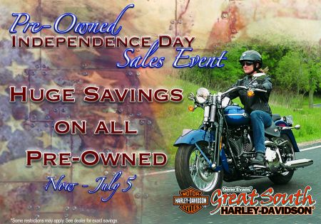 Pre-Owned Independence Day Sales Event