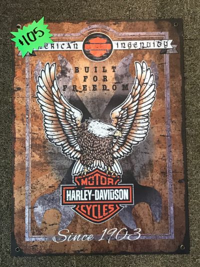 Harley-Davidson® Metal Sign