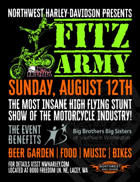 Fitz Army Freestyle Motorcross Show!