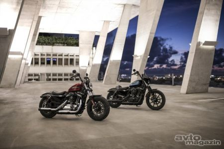 Vozili smo: Harley-Davidson Iron 1200 in Forty-Eight Special