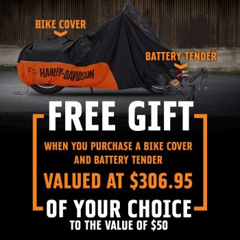 Free Gift with Canberra H-D®!