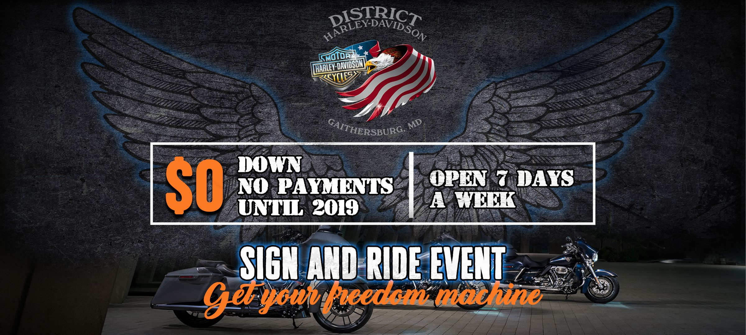 New & Used Motorcycle Dealer | District Harley-Davidson®