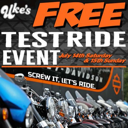 Uke's Test Ride Event