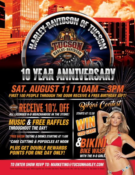10 Year Anniversary Party!