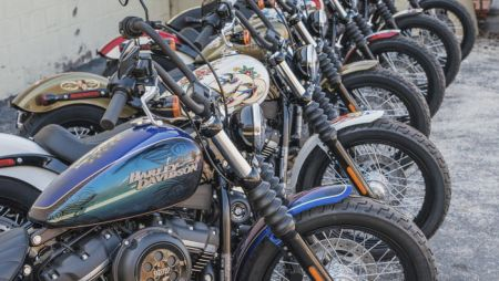 Sailor Jerry and Harley-Davidson teamed up for a motorcycle art contest