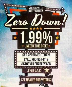 ZERO DOWN, 1.99%