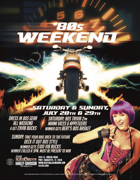 Bert's 80s Weekend
