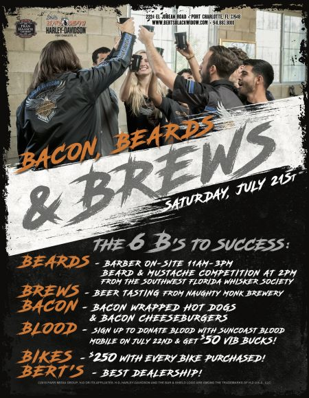 Bert's Bacons, Beards & Brews