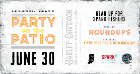 Share: Party On The Patio W/ The RoundUpu0027s!