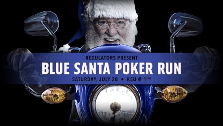 Blue Santa Poker Run