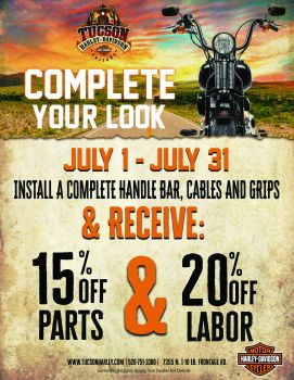 Complete Your Look: July Service Special