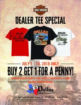 Summer Dealer Tee Sale