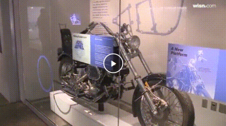 New Harley-Davidson Museum exhibit focuses on motorcycle suspension