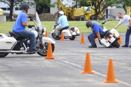 Harley-Davidson offers bikes for police training