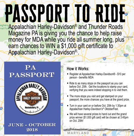 Passport to Ride!
