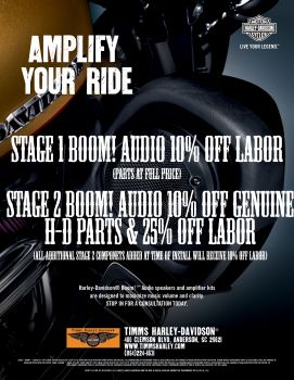 Stage 1 & 2 Boom! Audio Specials