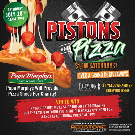 Pistons and Pizza