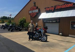 Rich and his 09 Road King!