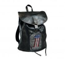 Harley-Davidson® Women's #1 Patch Leather Handbag | Lightly Distressed -