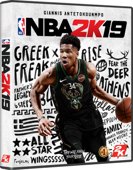 The Bar & Sheild on the cover of NBA2K